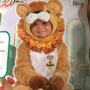 Lion Baby costume wizard of oz